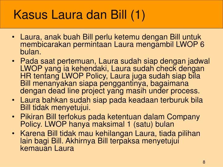 Kasus Laura dan Bill (1)