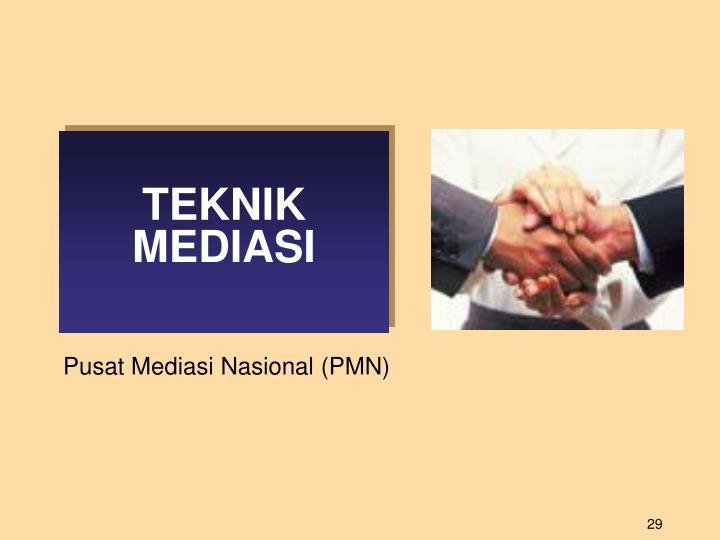 TEKNIK MEDIASI