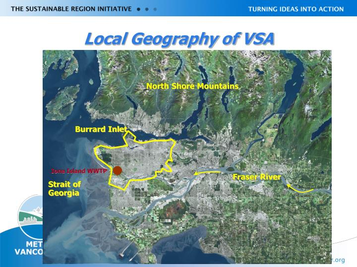 Local Geography of VSA