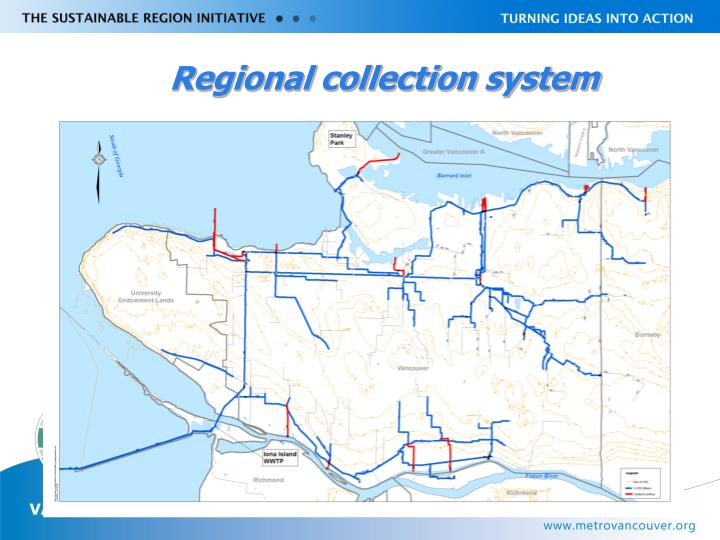Regional collection system