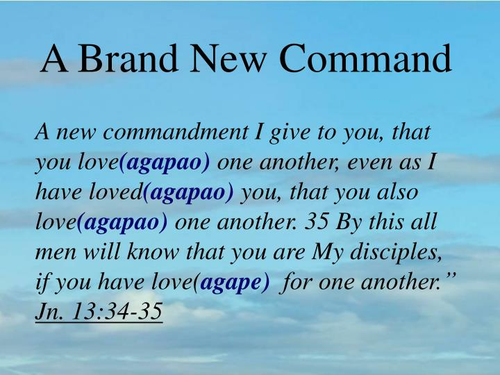 A Brand New Command