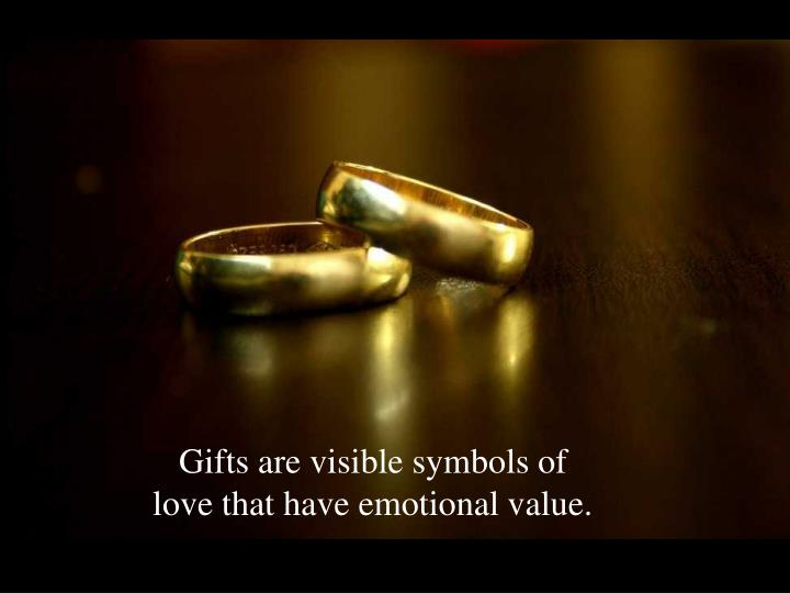 Gifts are visible symbols of