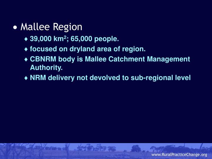 Mallee Region