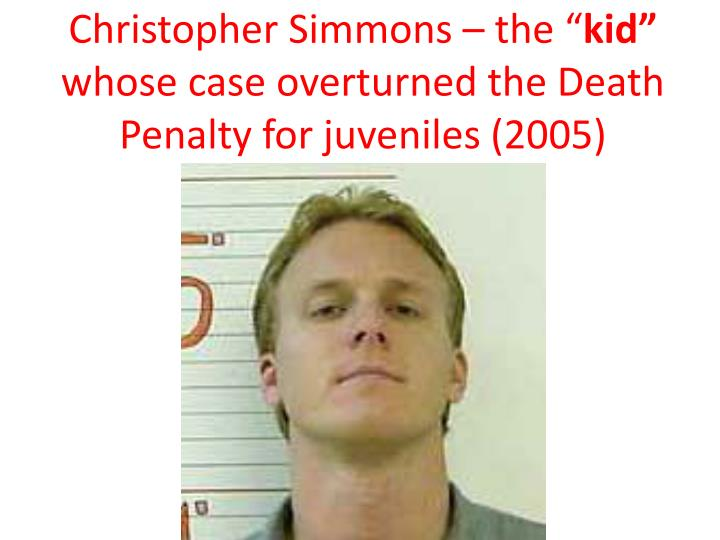 """Christopher Simmons – the """""""