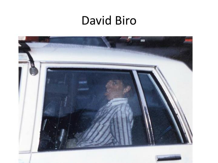 David Biro