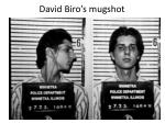 david biro s mugshot