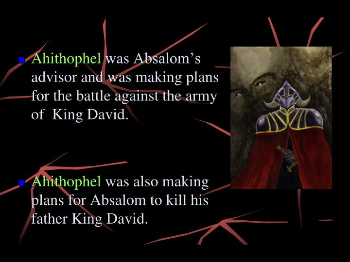 Ahithophel