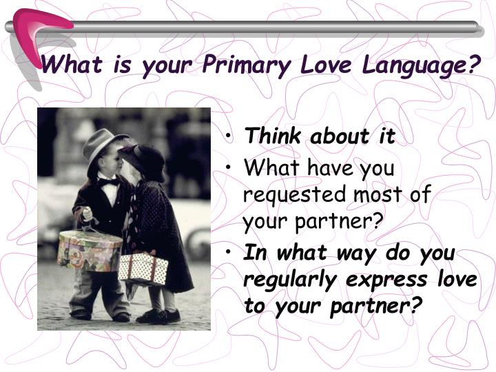 What is your Primary Love Language?