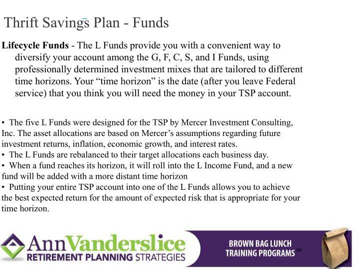 Thrift Savings Plan - Funds