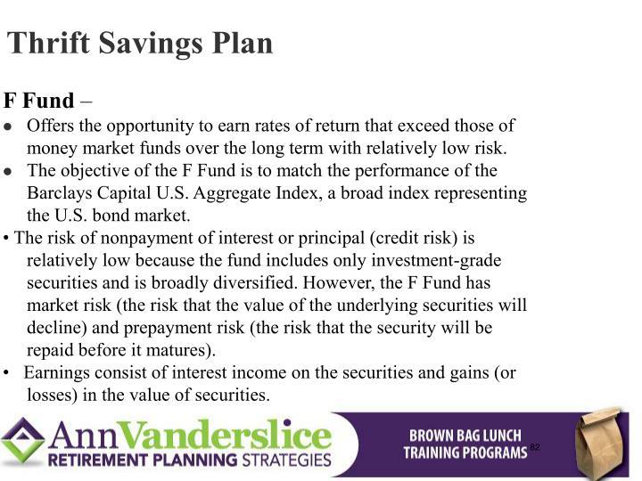 Thrift Savings Plan