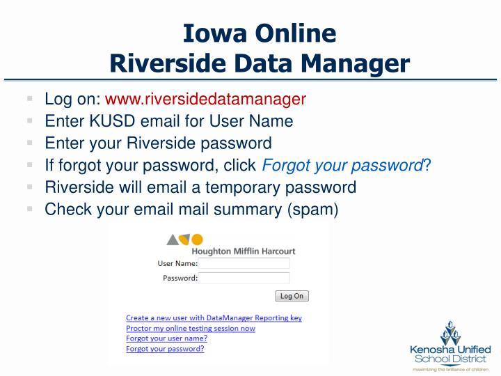 Iowa Online