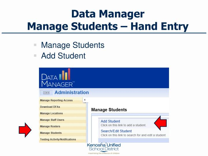 Data Manager