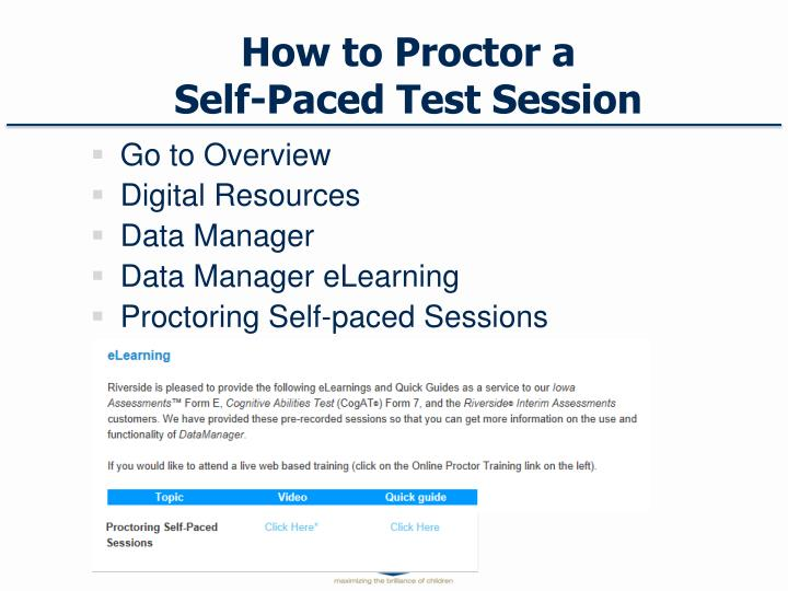 How to Proctor a
