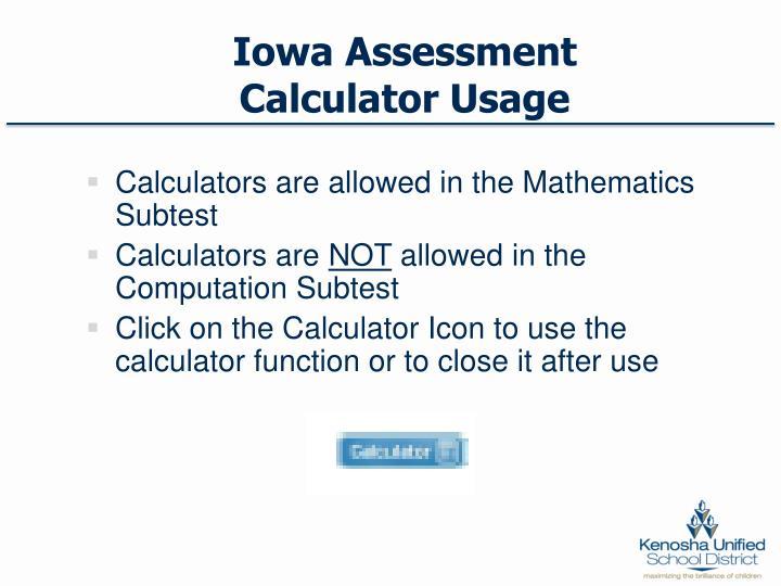 Iowa Assessment