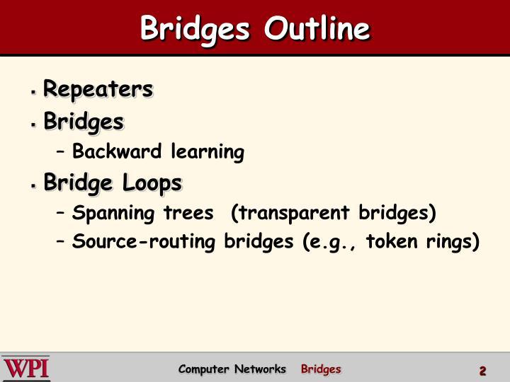 Bridges Outline