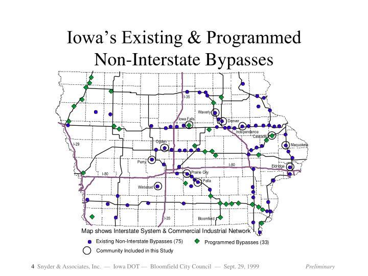 Iowa's Existing & Programmed