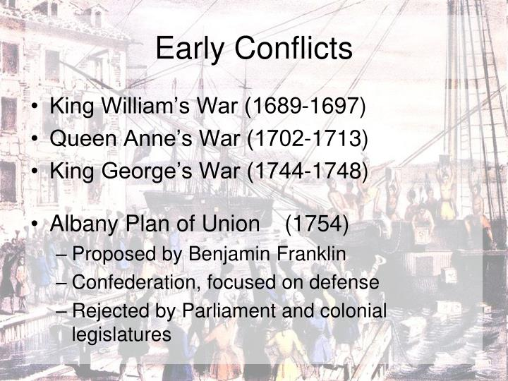 Early Conflicts