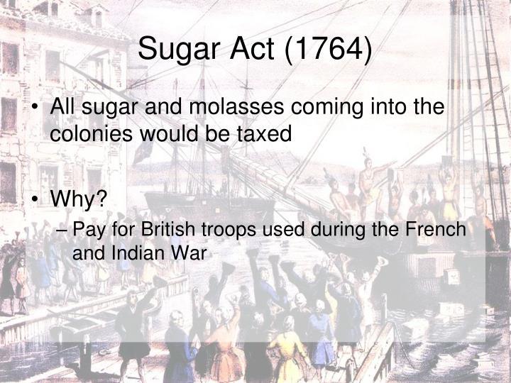 Sugar Act (1764)