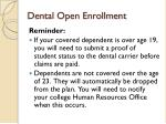dental open enrollment1