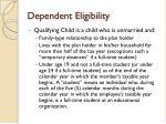 dependent eligibility4