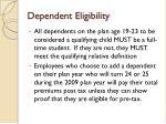 dependent eligibility7