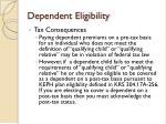 dependent eligibility8