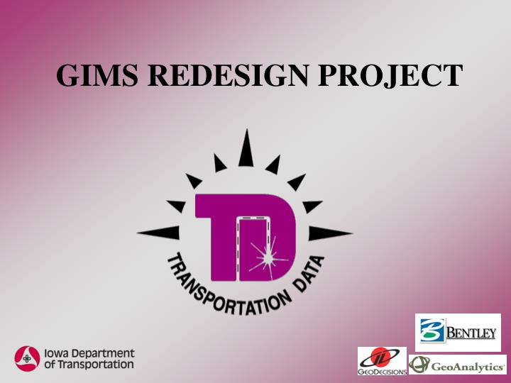 Gims redesign project