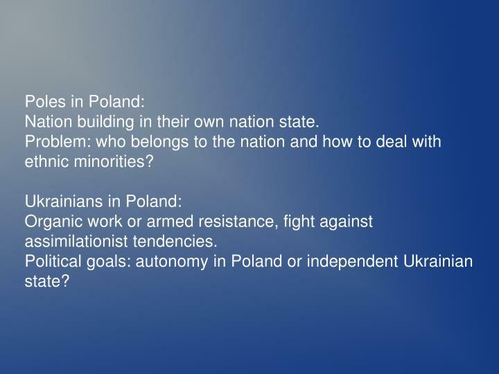 Poles in Poland: