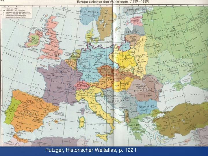 Putzger, Historischer Weltatlas, p. 122 f