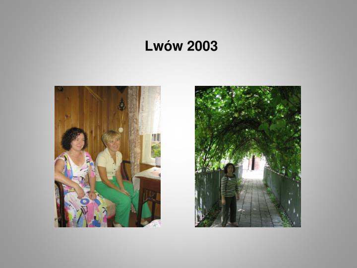Lwów 2003