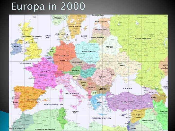 Europa in 2000