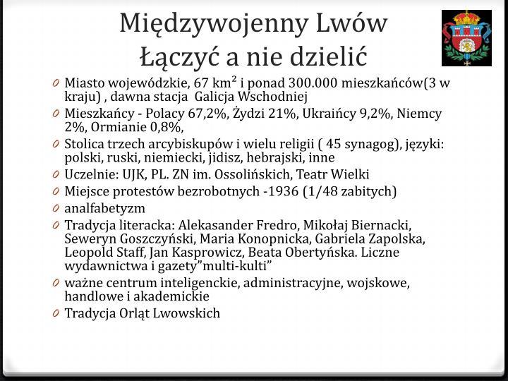 Międzywojenny Lwów