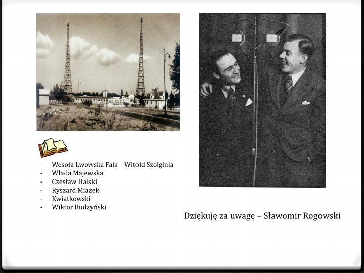 Wesoła Lwowska Fala – Witold Szolginia