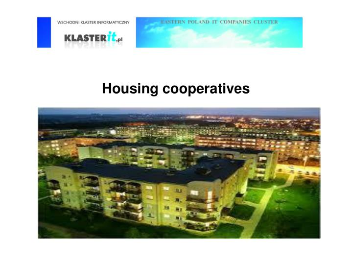 Housing cooperatives