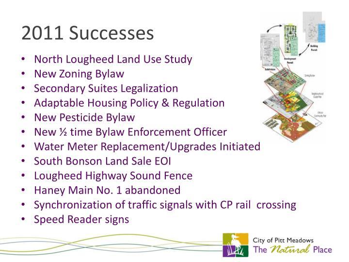 2011 Successes