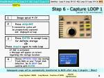 step 6 capture loop 1 apical 4 cv unenhanced