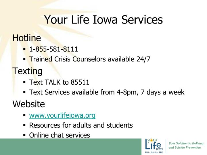 Your Life Iowa Services