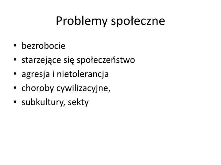 Problemy społeczne