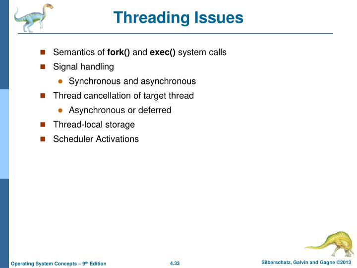 Threading Issues