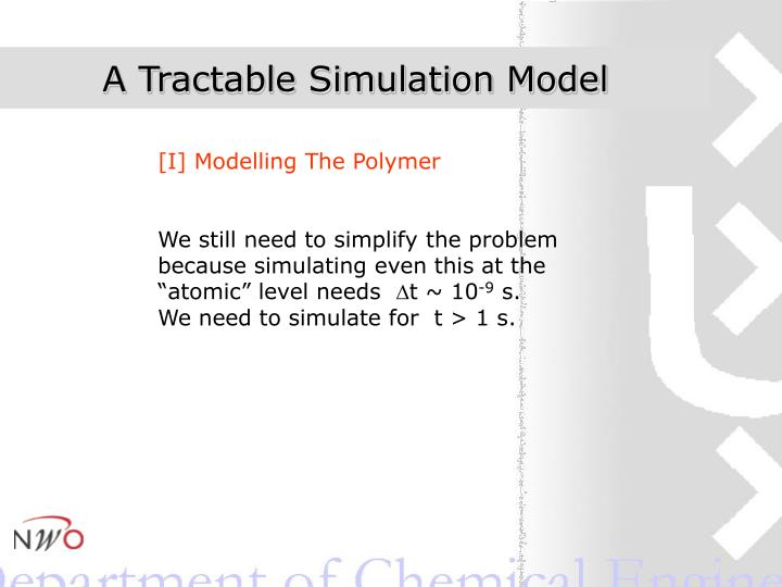 A Tractable Simulation Model