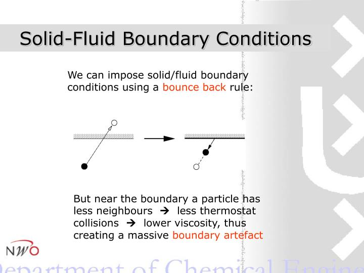 Solid-Fluid Boundary Conditions