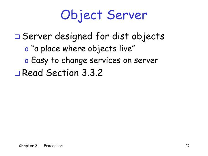 Object Server
