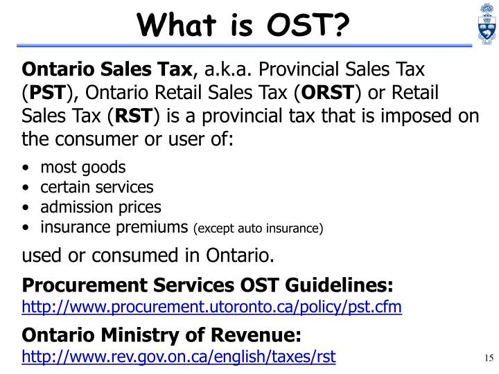 What is OST?