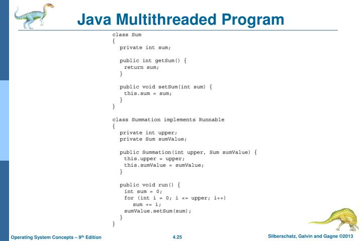 Java Multithreaded Program