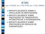 icms art 155 ii cf art 1 lc 87 96 art 1 le 5 900 96