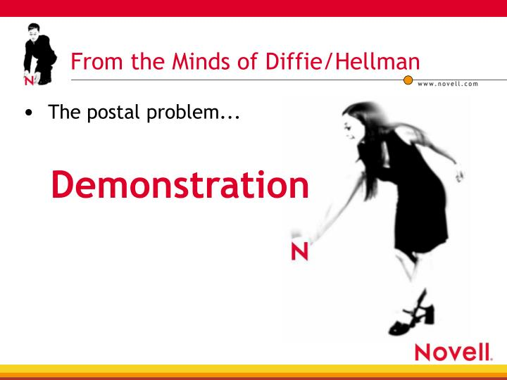 From the Minds of Diffie/Hellman