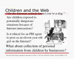 children and the web1