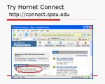 try hornet connect http connect spsu edu1