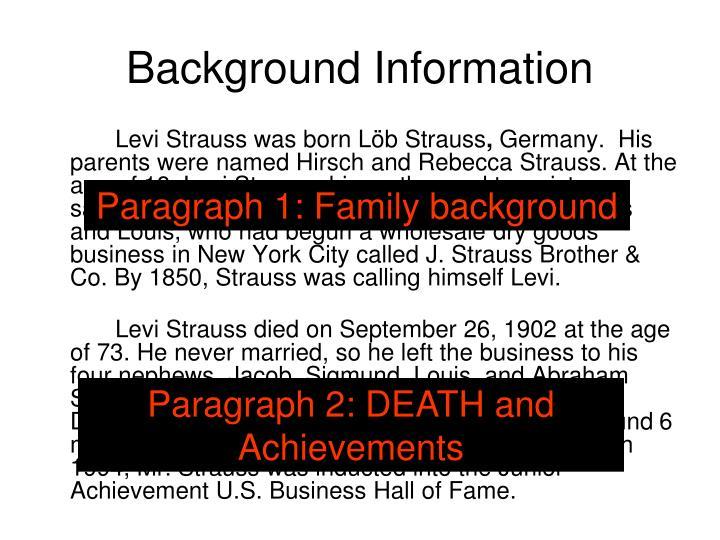 Levi Strauss was born Löb Strauss