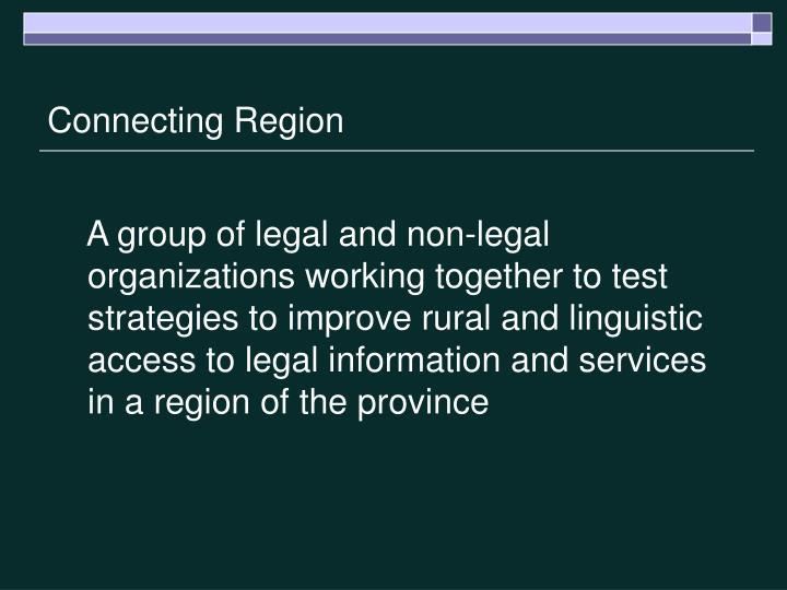 Connecting Region